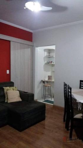 Apartamento À Venda, 61 M² Por R$ 280.000,00 - Residencial Montreal - Paulínia/sp - Ap0391