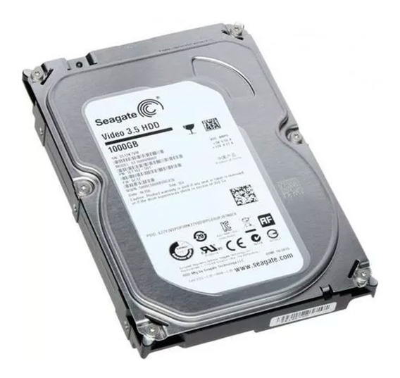 Hd 1tb Sata 3 Seagate 3.5 P/ Dvr Pc Desktop A Pronta Entrega