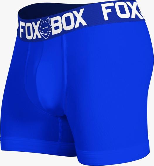 Kit 12 Cuecas Boxe Elástico Bordado Original Box Fox Revenda