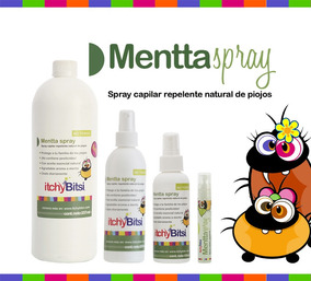 Itchybitsi Menta Spray 237 Ml Repelente Para Piojos