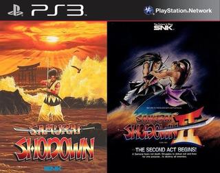 Samurai Shodown 1 & 2 Pack ~ Ps3 Digital