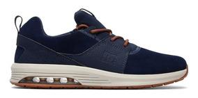 Tênis Dc Shoes Heathrow Ia Navy Camel