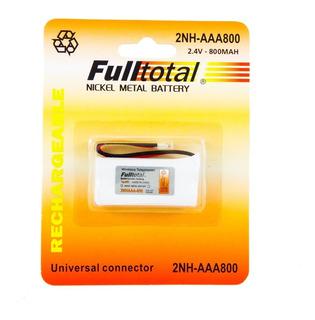 1 Bateria 2nh Aaa Recargable 800 Mah 2.4v Telefono Inalambri