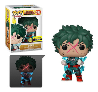 Funko Pop My Hero Academia Deku Cowl Glow In The Dark Exclus