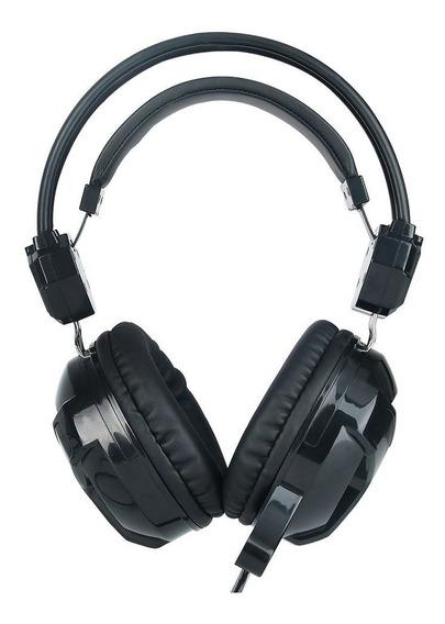 Fone De Ouvido C3tech Gamer Com Microfone P2 Blackbird