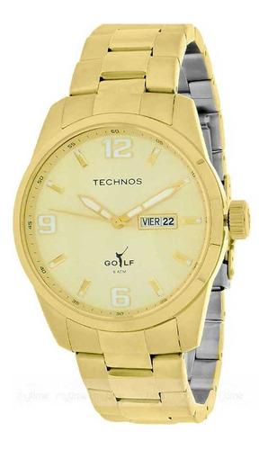 Relógio Technos Masculino Classic 2305af/4x