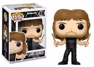 Funko Pop! Rocks: Metallica - Lars Ulrich - Blue Marble
