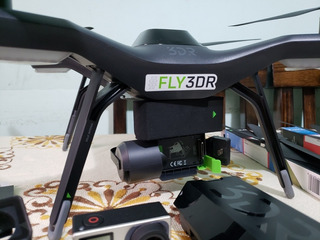 Drone Solo 3dr + Mochila + Gopro 4 Black/pantalla+accesorios