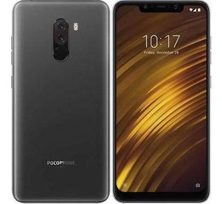 Celular Xiaomi Pocophone F1 64gb Usado Preto C/ Capa