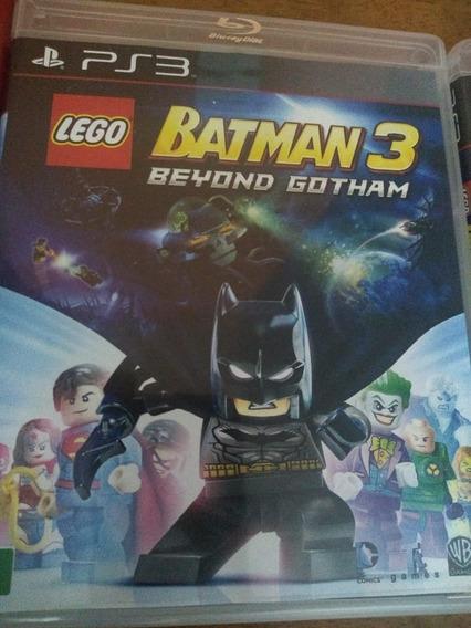 Lego Batman 3: Beyond Gotham - Ps3 - Mídia Física