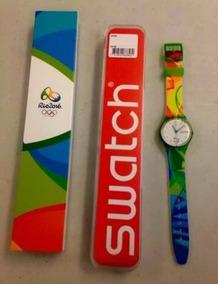 Relógio Jogos Olímpicos Rio 2016 Swatch Novo Original