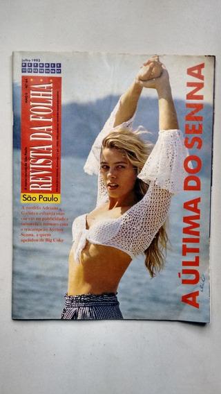 Revista Da Folha De São Paulo 64 Adriane Galisteu 1993 E461