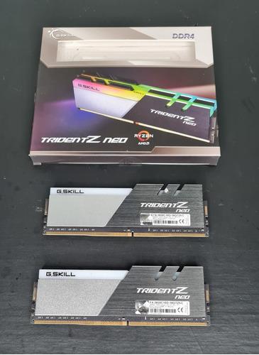 Memória Ram Trident Z 16gb 2x8gb G.skill F4-3600c16d-16gtznc