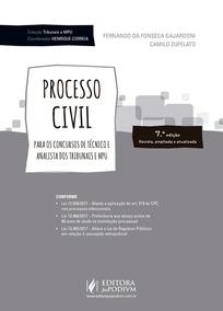 Coleção Tribunais E Mpu - Processo Civil - Para Analista