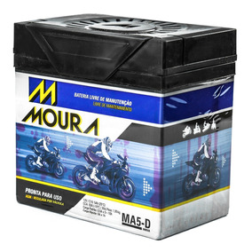 Bateria Moto Moura Original Honda Titan150 Honda Cg 125