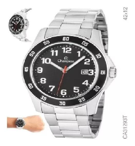 Relógio Champion Maculino Dourado Promoção Ca31293t Original