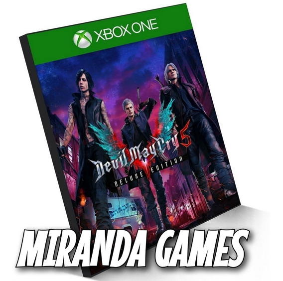 Devil May Cry 5 Deluxe Edition Xbox One Midia Digital Dmc