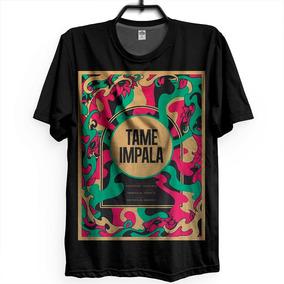 e16a46124a Camiseta Tame Impala - Camisetas Masculino Manga Curta no Mercado ...