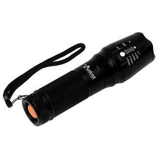 Lanterna Tática Led De Alumínio Audisat X900 Com Zoom