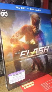 Blu Ray The Flash Temporada 2 Envio Gratis