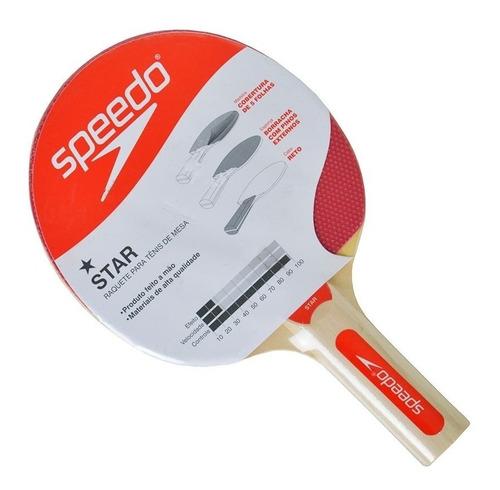 Raquete Para Ping Pong Tênis De Mesa Star Speedo 978115