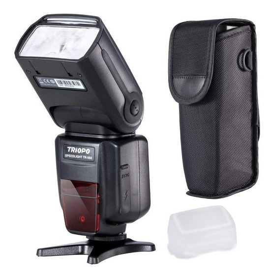Flash Triopo Tr -988 Para Canon Y Nikon Ttl Y Manual