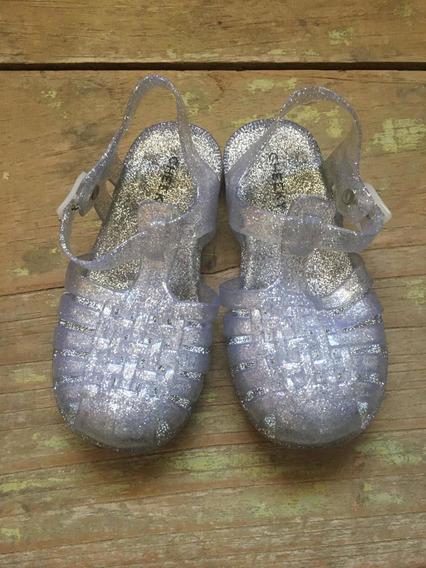 Sandalias Nena Cheeky Transparentes Glitter