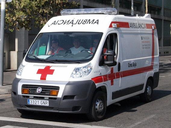 Fiat Ducato Ambulancia $400.000 Y Cuotas $11.500 F-