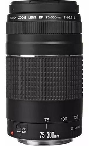Lente Canon Ef 75-300mm F/4-5.6 Iii Garantia De 1 Ano Canon
