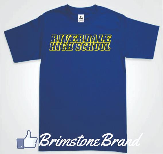 Playera Riverdale High School 2 Envio Gratis