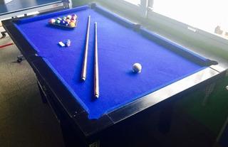 Pool Semiprofesional+ Kit Accs+ Tapa P Pong/comedor+ Paletas