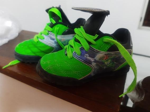 Zapatillas Botines Topper Linterna Verde Green Lantern