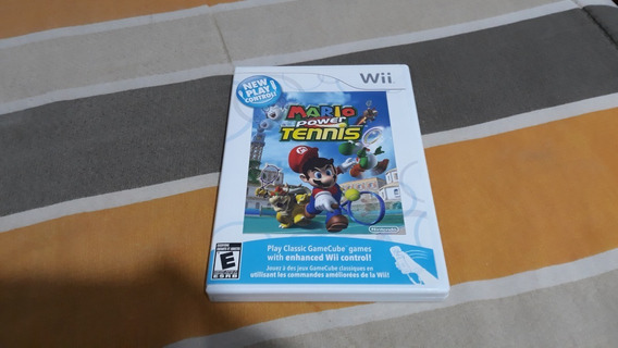 Mario Power Tennis Original Americano Para Wii