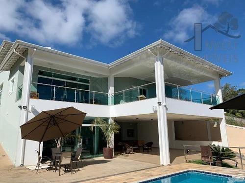 Imagem 1 de 15 de Cód - 5713 -lindíssima Casa Beira Da Represa Em Ibiúna. - 5713