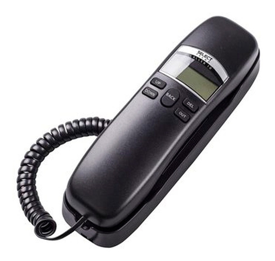Teléfono Alámbrico Lcd 62 Registros 8338ss Select Sound