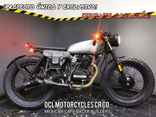 Imagen 1 de 8 de Moto Honda 125cc Cafe-brat ¡en Stock! (custom/cafe Racer)