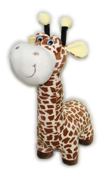 Pelúcia 40 Cm Girafa Colorida Lita - Pronta Entrega