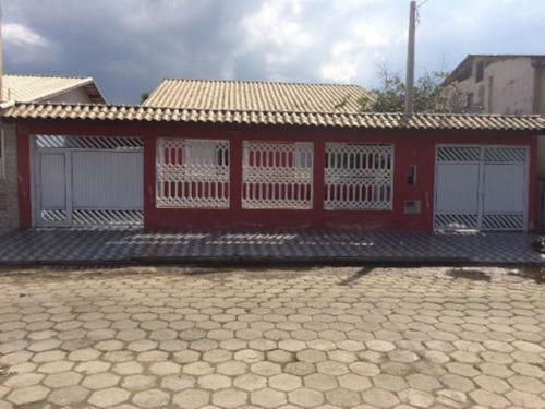 Imagem 1 de 14 de Casa De Praia Com Piscina E 5 Dormitórios Em Itanhaém/sp