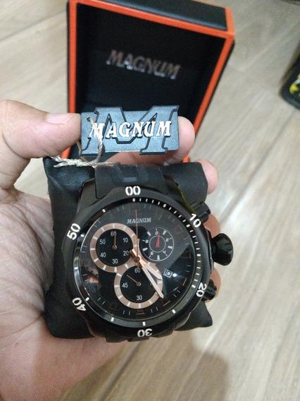 Relógio Magnum Cronógraf Modelo Ma33755 Extra Grande