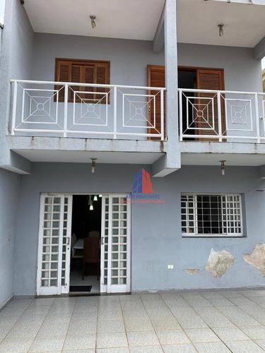 Sobrado Com 4 Dormitórios À Venda, 237 M² Por R$ 430.000,00 - Parque Novo Mundo - Americana/sp - So0047