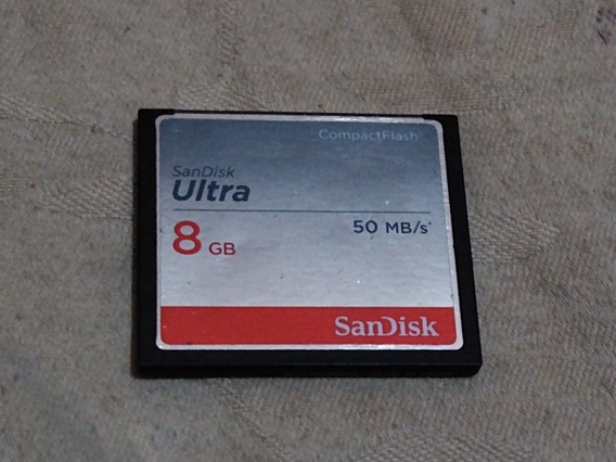 Compacta Flash 8gb Sandisk Ultra