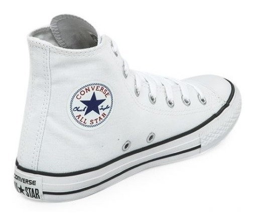 Zapatillas Converse All Star Hi Kids Blanco- Sagat Deportes