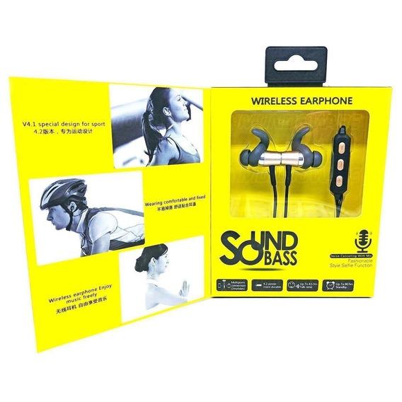 Fone Bluetooth Intra-auricular Sound Bass Fashionable Style