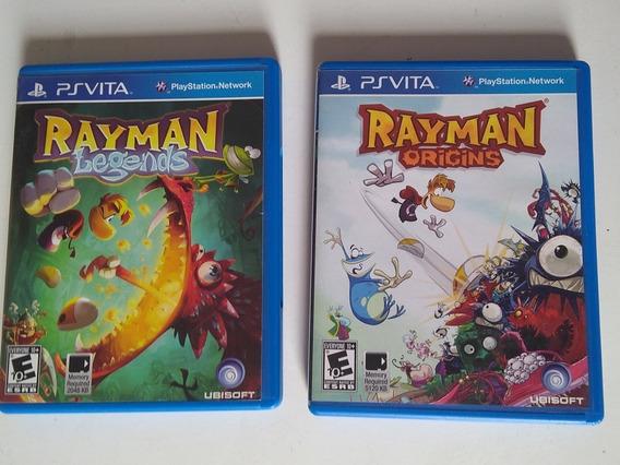 Rayman Legends +origens Para Ps Vita
