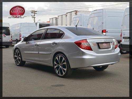 Imagem 1 de 14 de Honda Civic 1.8 Exs Automático 2012