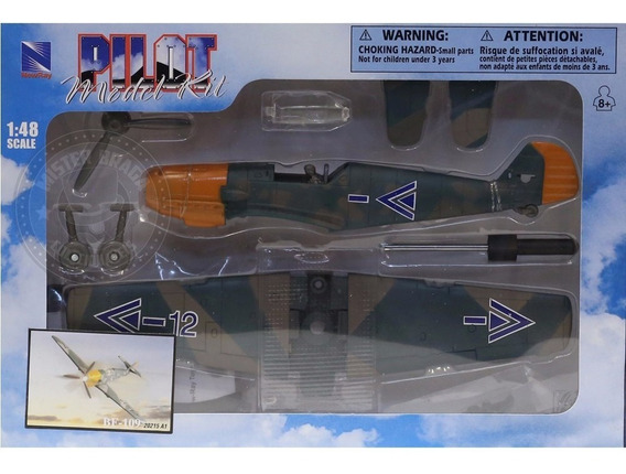 Kit Montar Avião Be-109 Camuflado New Ray