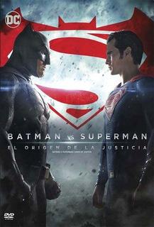 Batman Vs Superman Dvd Nuevo Original Cerrado