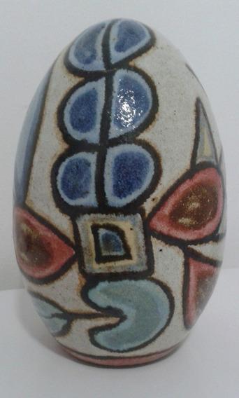 Ovo Grande Francisco Brennand, Cerâmica Vitrificada, 17cm Al