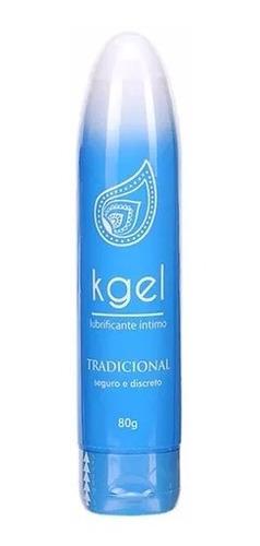 Imagem 1 de 1 de Lubrificante Intimo Tradicional K Gel Base Aquosa 80g