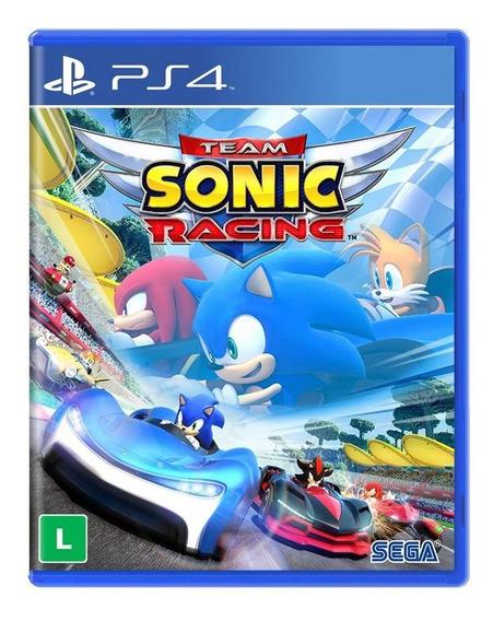 Jogo Novo Lacrado Midia Fisica Team Sonic Racing Para Ps4